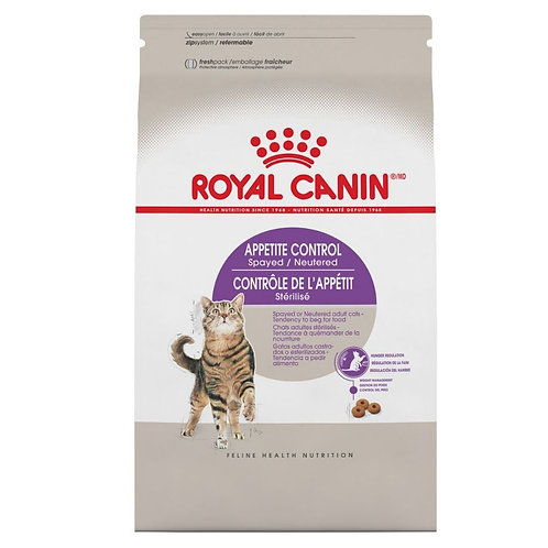 Controle appetit sterilise Royal Canin pour chat Animal Expert St-Bruno