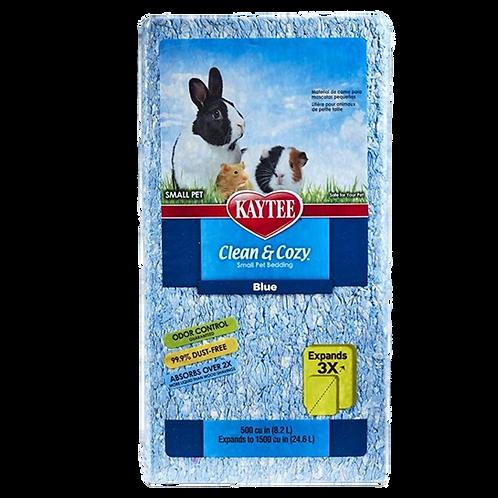Litiere bleue clean and cozy de Kaytee rongeurs Animal Expert St-Bruno