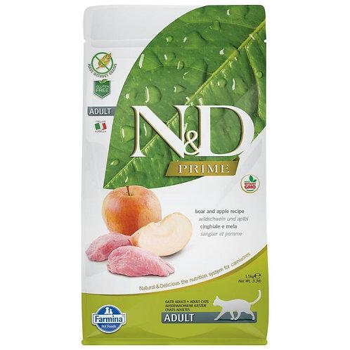 Farmina N&D Prime Sans Grain Chat Sanglier et Pomme
