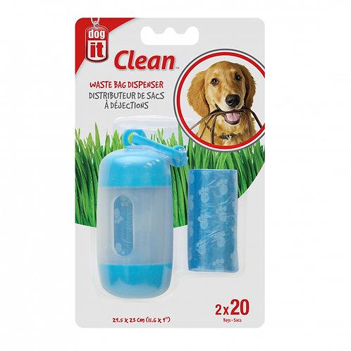 Distributeur de sacs a dejection Dogit Clean pour chien Animal Expert St-Bruno