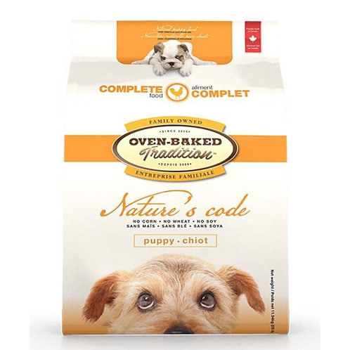 Formule au poulet Nature Oven-Baked Tradition Chiot Animal Expert St-Bruno
