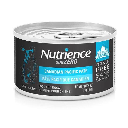 Pate Pacifique Canadien Subzero Nutrience pour chien Animal Expert St-Bruno