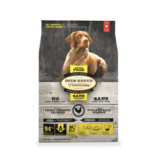 Poulet Sans Grains Oven-Baked Tradition Chien Animal Expert St-Bruno