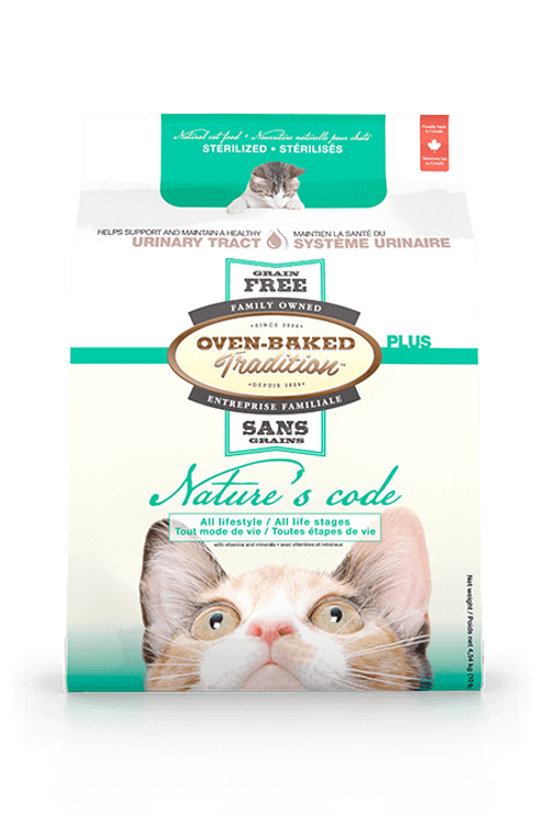 Soins-urinaires-Nature-code-Oven-Baked-Tradition-chat-Animal-Expert-St-Bruno