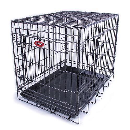 Cage en métal pliante Hunter 2 portes