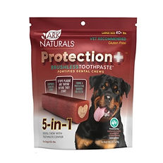 Dentifrice sans brosse Ark Naturals chien +40 lbs
