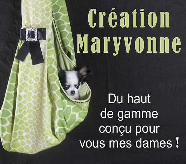 Création Maryvonne mode canine