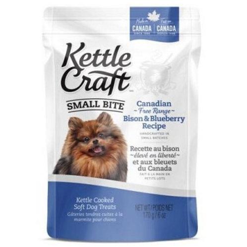 Petites bouchees bison bleuets Kettle Craft pour chien Animal Expert St-Bruno