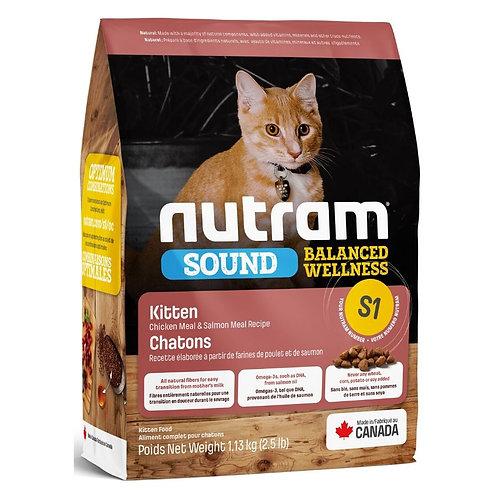 Nutram Sound Chaton Poulet et Saumon