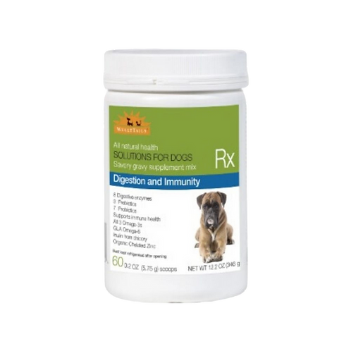 Supplement alimentaire digestion et immunite Welly Tails pour chien Animal Expert St-Bruno