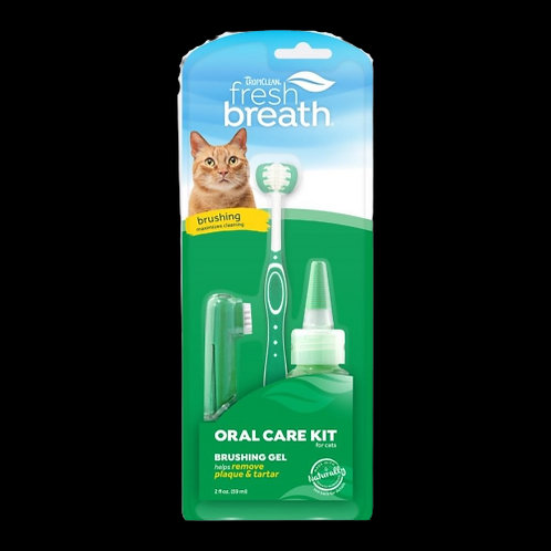 Kit-soin-bucco-dentaire-Tropiclean-Fresh-Breath-chat-Animal-Expert-St-Bruno