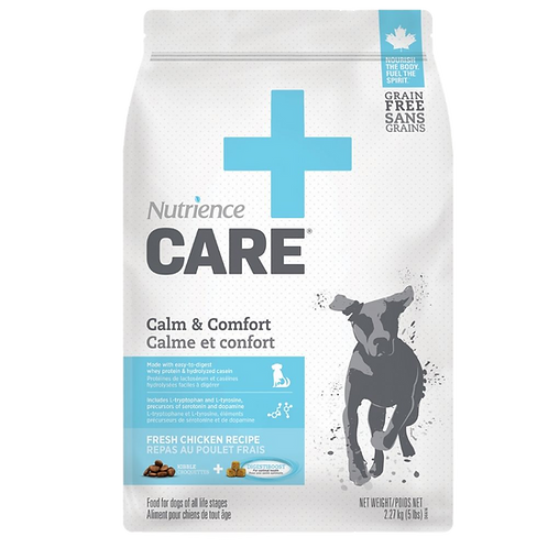 Calme et confort Nutrience Care chien Animal Expert St-Bruno