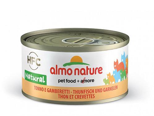 Thon et Crevette HQS Natural Almo Nature