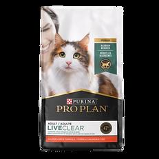Formule Liveclear pour chat adulte Purina Pro Plan
