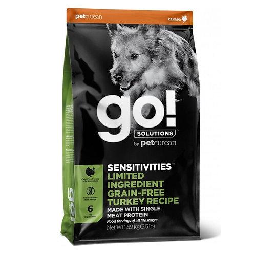 Sensitive dinde Sans Grains GO Chien Animal Expert St-Bruno