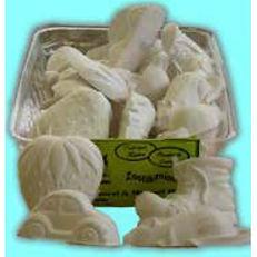 Blocs Minérales Blanc Vanille