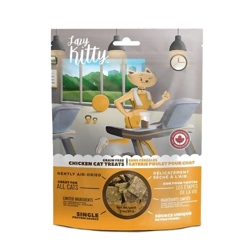Gateries-poulet-Lazy-Kitty-chat-Animal-Expert-St-Bruno