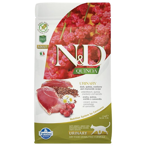 Farmina N&D Quinoa Sans Grain Chat Urinaire Canard