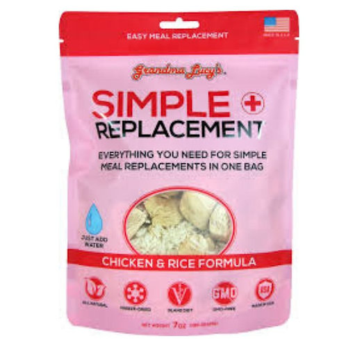 Simple Replacement Poulet et riz Grandma Lucys pour chien Animal Expert St-Bruno