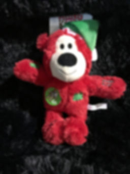 Peluche ours rouge Kong Wild Knots