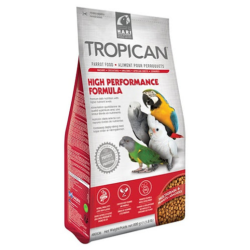 Aliment High Performance Tropican pour perroquets