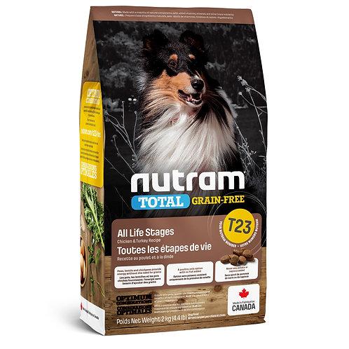 Nutram Total Chien Sans Grain Poulet et Dinde