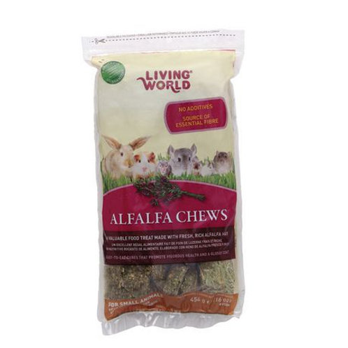Régals Alfalfa Chews Living World