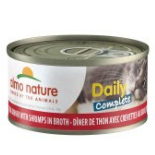 Thon et crevettes Almo Daily Complete Diner pour chat Animal Expert St-Bruno