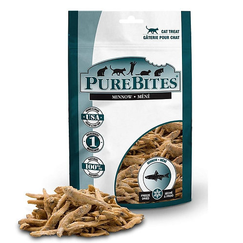 Gateries au mene pour chat Purebites Animal Expert St-Bruno