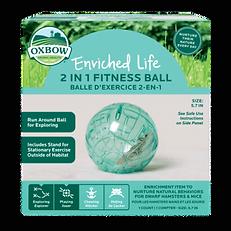 Balle d'exercice 2 en 1 Oxbow Enriched Life