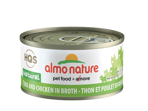 Thon et Poulet HQS Natural Almo Nature
