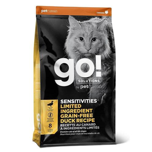 Recette au canard sans grains Go Solutions Petcurean Sensitive pour chat Animal Expert St-Bruno
