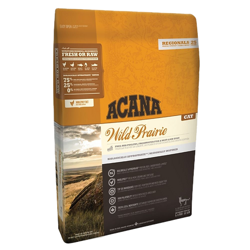 Prairies sauvages Acana pour chat Animal Expert St-Bruno