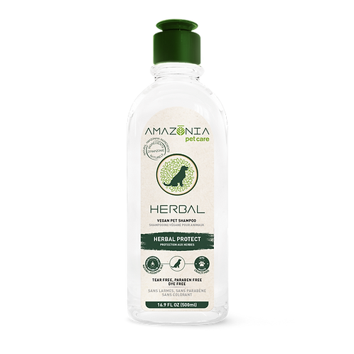 Shampooing protection aux herbes naturelles Amazonia Pet Care pour chien chat Animal Expert St-Bruno