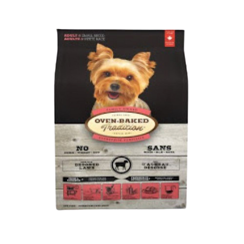 Petites-bouchees-agneau-Oven-Baked-Tradition-chien-Animal-Expert-St-Bruno