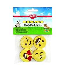 Pack de 4 jouets à mastiquer Chew-Mojis Kaytee
