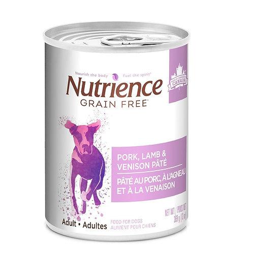 Porc Agneau et Venaison Sans Grains Nutriencepour chien Animal Expert St-Bruno