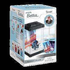 Aquarium de la tour Marina pour Betta