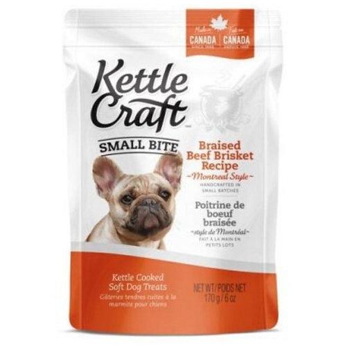 Petites bouchees poitrine boeuf braise Kettle Craft pour chien Animal Expert St-Bruno