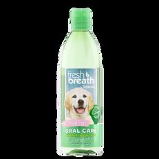 Additif à l'eau de soin bucco-dentaire Tropiclean pour chiot