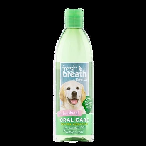 Additif-eau-soin-bucco-dentaire-Tropiclean-chiot-Animal-Expert-St-Bruno