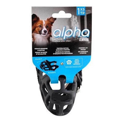 Muselière Alpha Zeus pour chien