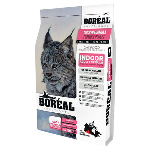 Formule poulet Boreal Functional Chat interieur Animal Expert St-Bruno