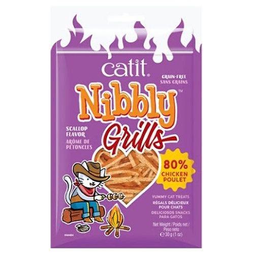 Grillades Catit Nibbly Grills Poulet et Arôme de Pétoncles