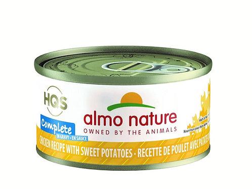 Poulet et Patate Douce en sauce Almo HQS Complete