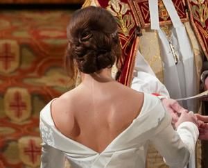 Vestido boda real
