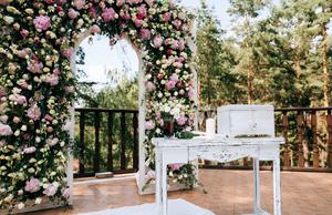 Decoración floral ceremonia civil