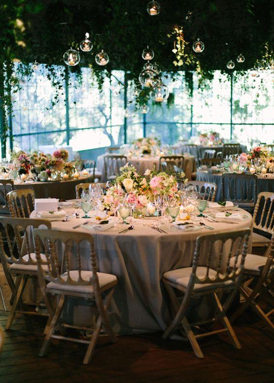 Decoración floral banquete