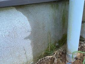 壁の中から水漏れ?!