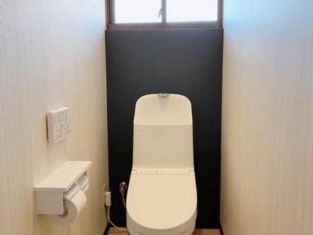トイレのリフォーム工事をしました